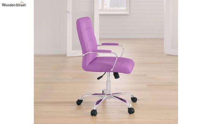 MB PU Leatherette Executive Task Chair (Purple)-2