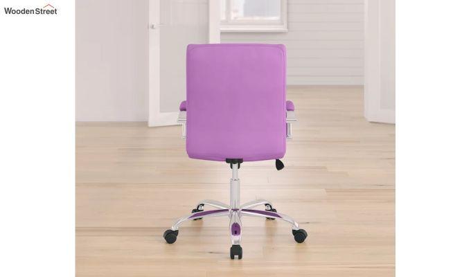 MB PU Leatherette Executive Task Chair (Purple)-4
