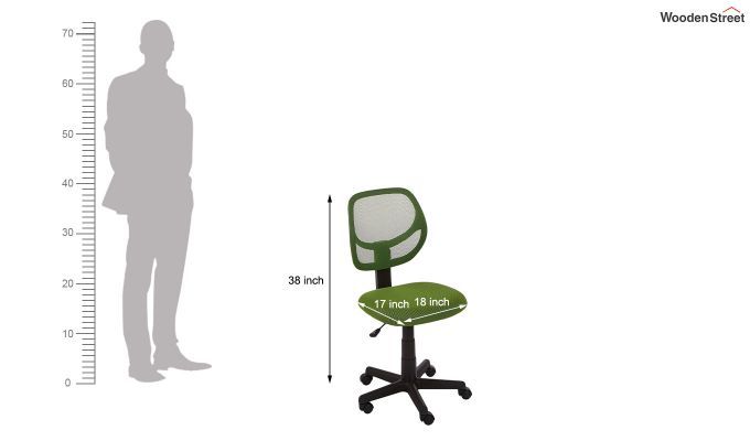 Moss Low Back Computer Chair-7