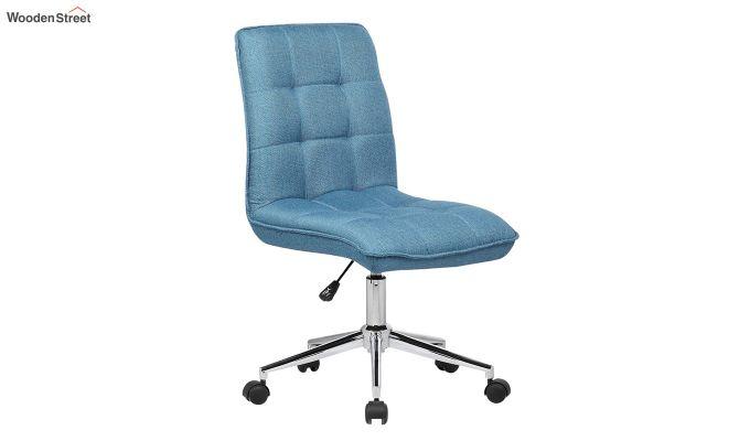 Porthos Home Lada Adjustable Swivel Fabric Office Chair (Blue)-2