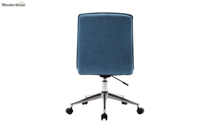 Porthos Home Lada Adjustable Swivel Fabric Office Chair (Blue)-3