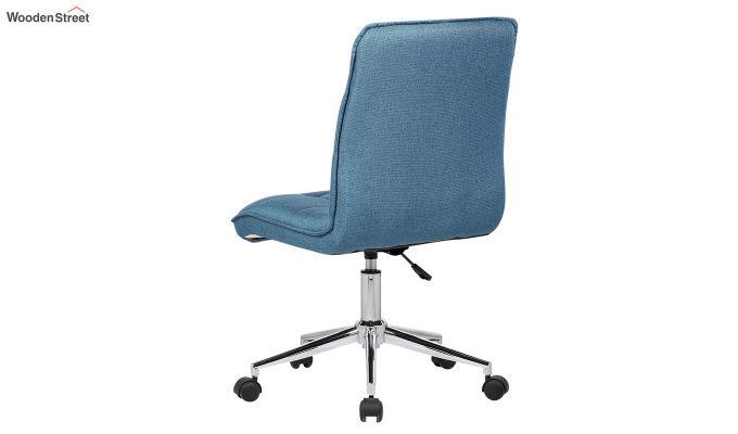 Porthos Home Lada Adjustable Swivel Fabric Office Chair (Blue)-4
