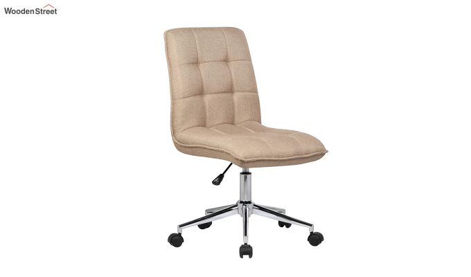 Porthos Home Lada Adjustable Swivel Fabric Office Chair (Brown)-1