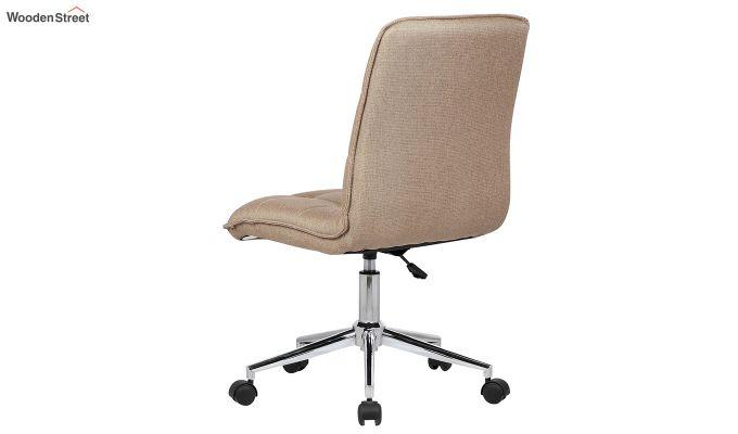 Porthos Home Lada Adjustable Swivel Fabric Office Chair (Brown)-2