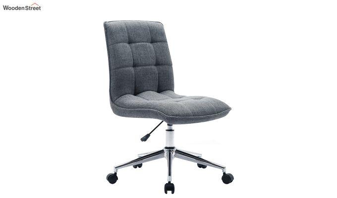Porthos Home Lada Adjustable Swivel Fabric Office Chair (Grey)-2
