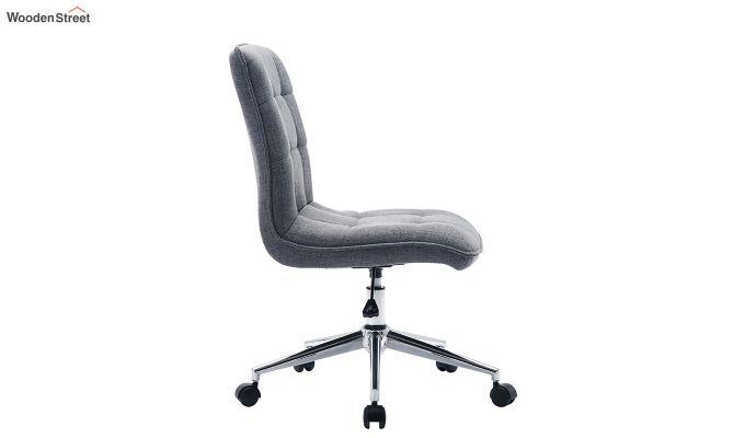 Porthos Home Lada Adjustable Swivel Fabric Office Chair (Grey)-3