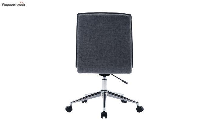 Porthos Home Lada Adjustable Swivel Fabric Office Chair (Grey)-4