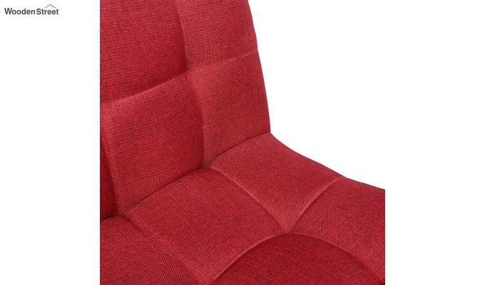 Porthos Home Lada Adjustable Swivel Fabric Office Chair (Red)-4