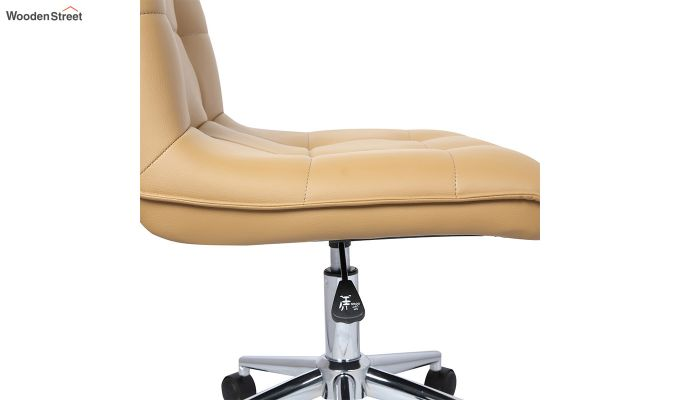 Porthos Home Lada Adjustable Swivel Faux Leather Office Chair (Brown)-3