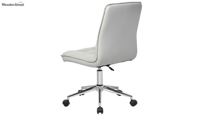 Porthos Home Lada Adjustable Swivel Faux Leather Office Chair (Grey)-2