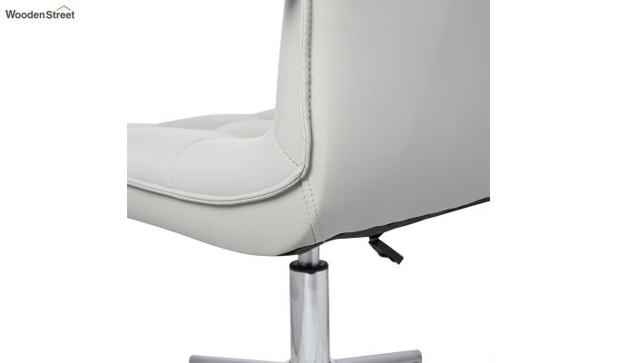 Porthos Home Lada Adjustable Swivel Faux Leather Office Chair (Grey)-4