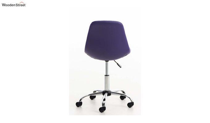Rochelle Leatherette Office Chair (Blue)-4