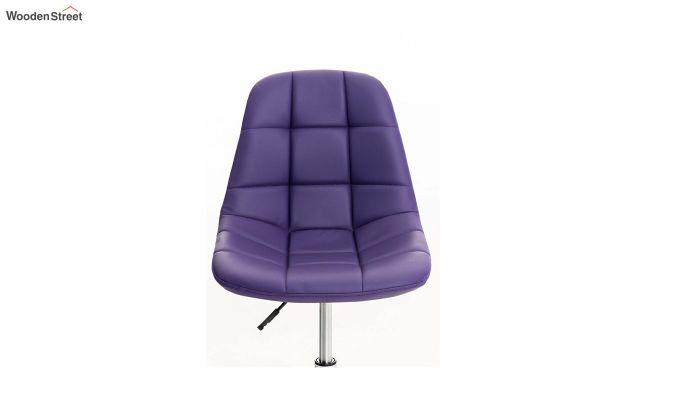 Rochelle Leatherette Office Chair (Blue)-5