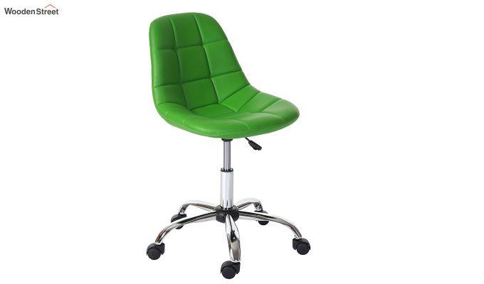 Rochelle Leatherette Office Chair (Green)-1