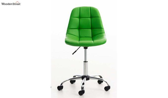 Rochelle Leatherette Office Chair (Green)-2