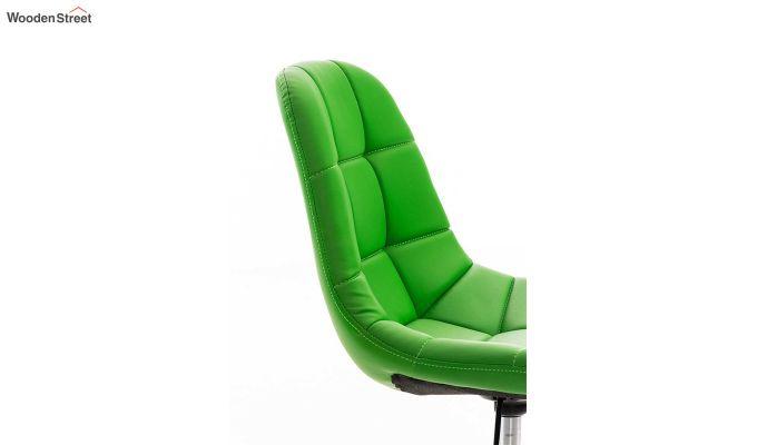 Rochelle Leatherette Office Chair (Green)-6