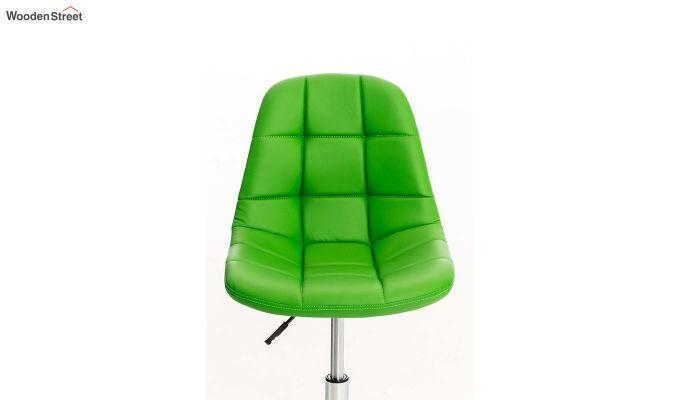 Rochelle Leatherette Office Chair (Green)-5