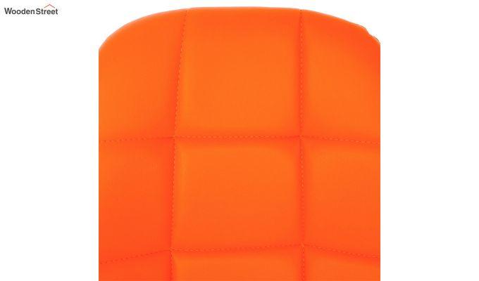 Rochelle Leatherette Office Chair (Orange)-6
