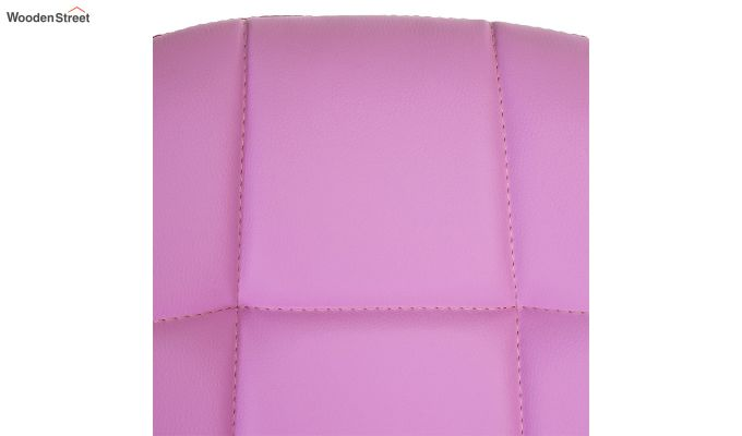 Rochelle Leatherette Office Chair (Pink)-6