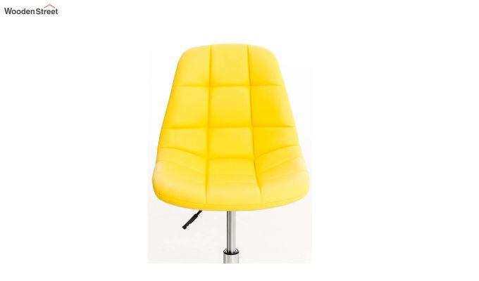 Rochelle Leatherette Office Chair (Yellow)-5