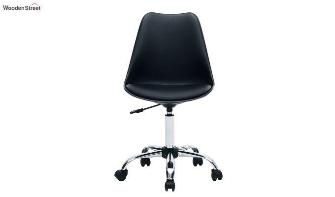 Stylish Modern Rotary Chair (Black)-4