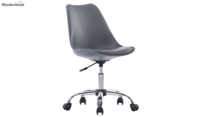 Stylish Modern Rotary Chair (Grey)-1
