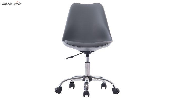 Stylish Modern Rotary Chair (Grey)-2