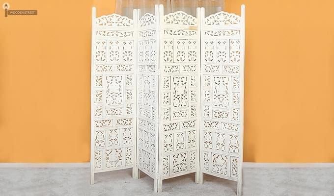 Alexander Room Partition (White Finish)-2