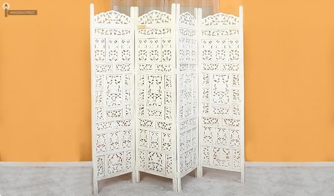 Alexander Room Partition (White Finish)-3