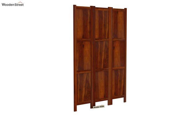 Artek 3 Panel Room Partition (Honey Finish)-2