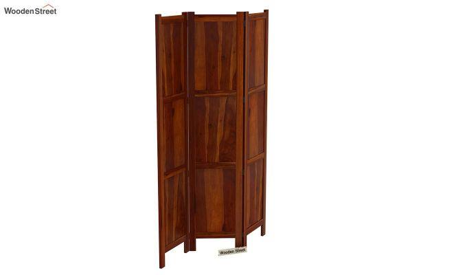 Artek 3 Panel Room Partition (Honey Finish)-4