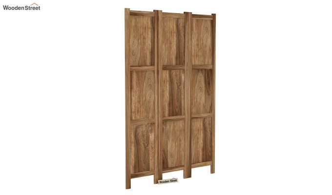 Artek 3 Panel Room Partition (Natural Finish)-2