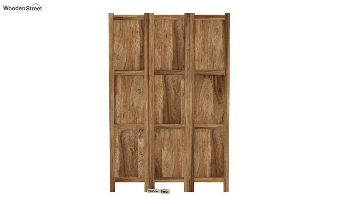Artek 3 Panel Room Partition (Natural Finish)-3