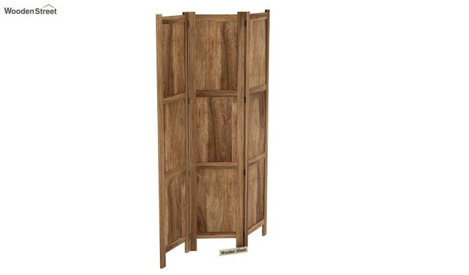 Artek 3 Panel Room Partition (Natural Finish)-4