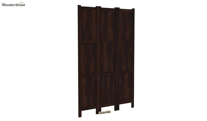 Artek 3 Panel Room Partition (Walnut Finish)-2