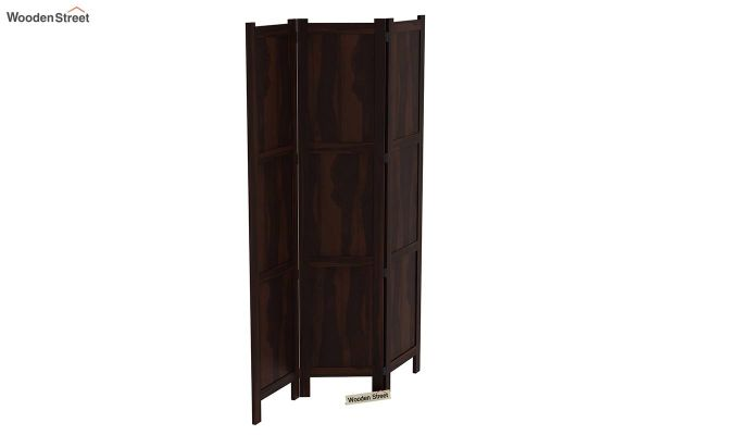 Artek 3 Panel Room Partition (Walnut Finish)-4