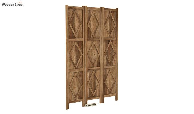 Cluster 3 Panel Room Partition (Natural Finish)-2