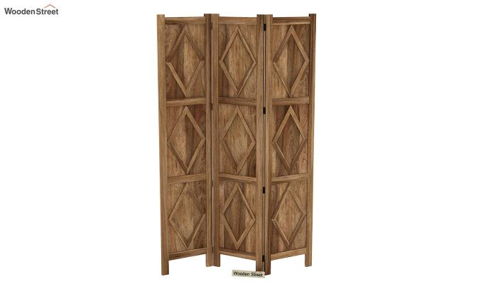 Cluster 3 Panel Room Partition (Natural Finish)-4