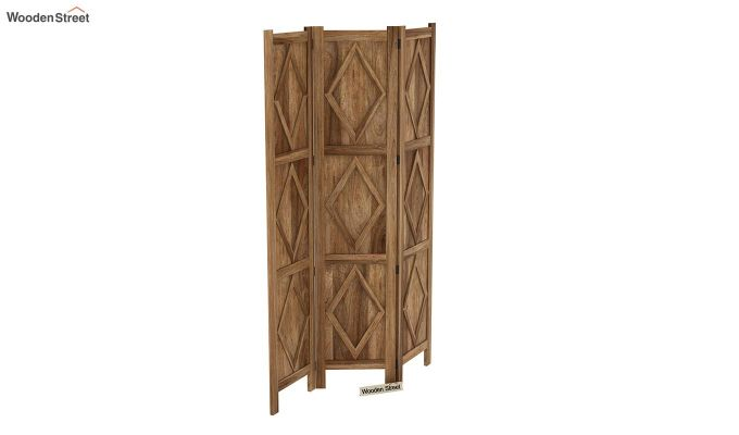 Cluster 3 Panel Room Partition (Natural Finish)-5