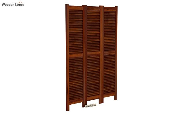 Vitra 3 Panel Room Partition (Honey Finish)-2