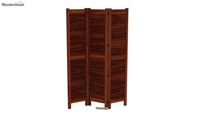 Vitra 3 Panel Room Partition (Honey Finish)-4