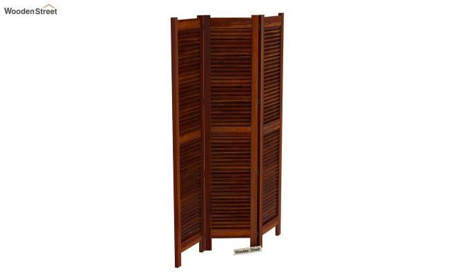Vitra 3 Panel Room Partition (Honey Finish)-5