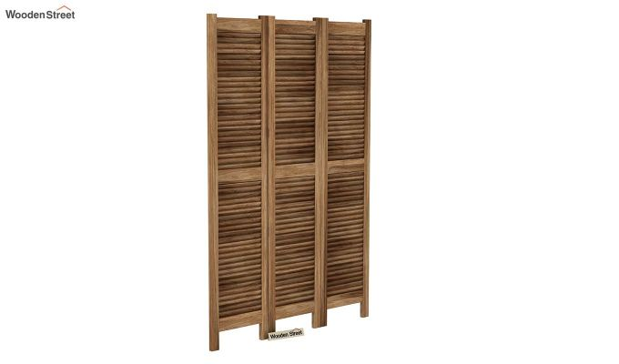 Vitra 3 Panel Room Partition (Natural Finish)-2