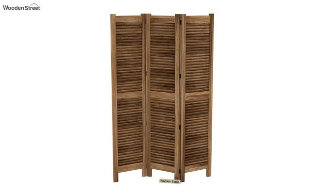 Vitra 3 Panel Room Partition (Natural Finish)-4