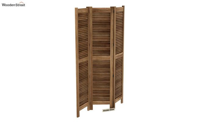 Vitra 3 Panel Room Partition (Natural Finish)-5