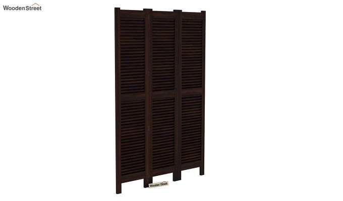 Vitra 3 Panel Room Partition (Walnut Finish)-2