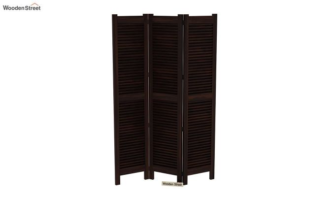 Vitra 3 Panel Room Partition (Walnut Finish)-4