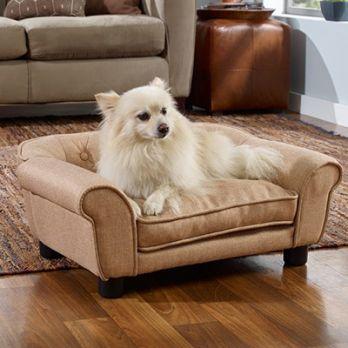 Dalton Dog Sofa Bed (Irish Cream)