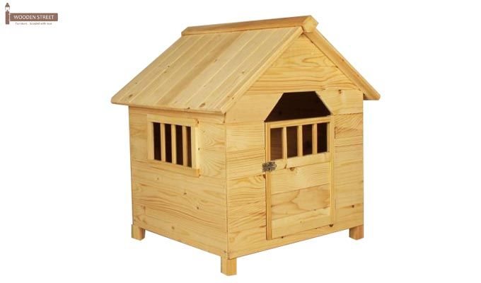 Diva Dog House (Natural Finish) -1
