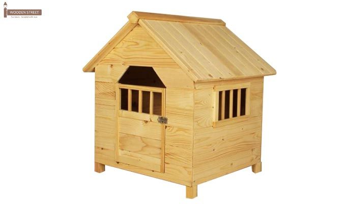 Diva Dog House (Natural Finish) -2